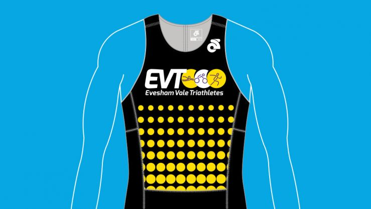 Evesham Vale Triathletes Brand and Kit Design
