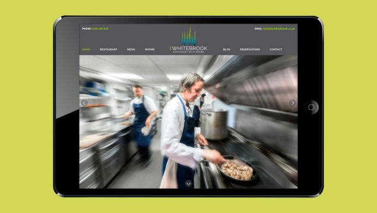 The Whitebrook Website Design and Build